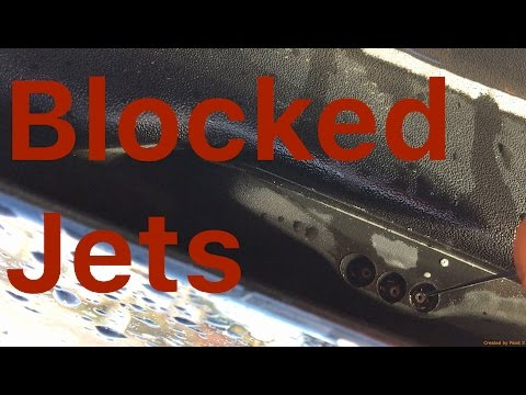 How To Unblock Car Washer Jets