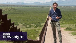 Trump's Wall: A symbol of his presidency? - BBC Newsnight