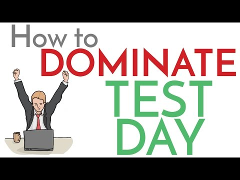 Test Day Domination - MCAT, Step 1, Step 2CK - Strategies to Maximize your Score