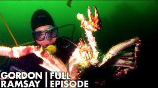 Gordon Ramsay Goes Hunting For King Crabs | The F Word Full Episode