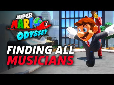 Super Mario Odyssey: How To Find All The Musicians In New Donk City