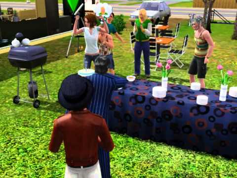 The Sims 3 : A Birthday Party to Adult