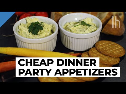 Easy to Make Appetizer Recipe | Cheap Dinner Party