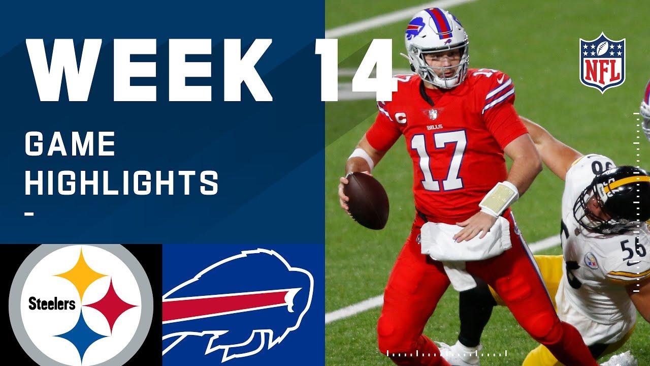 Steelers vs. Bills Week 14 Highlights   NFL 2020