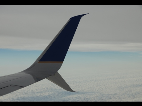 United Airlines B737-800(SWL) Houston - Orlando [FULL FLIGHT]