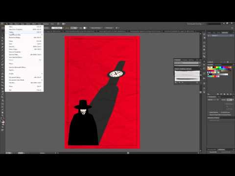 How to Create Alternate Movie Poster (Illustrator)