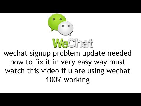 wechat update problem 2017| 100% working