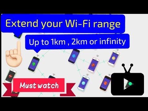 Increase Wi Fi Range Upto  Infinite Kilometers! | Increase your Hotspot range | 2018