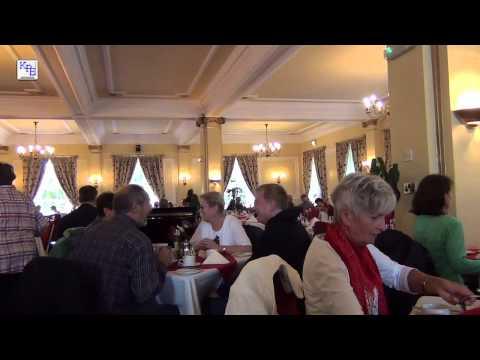 Cornwall - Cream Tea und Scones im Tregenna Castle Hotel