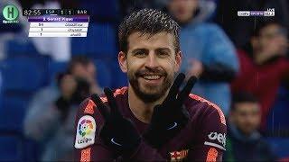 ملخص مباراة إسبانيول و برشلونة | 1-1  | الدوري الإسباني |  4-2-2018 | HD