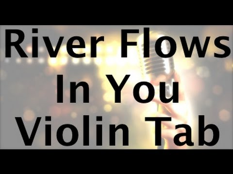 Learn River Flows In You on Violin - How to Play Tutorial