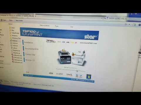 Overview of the Star TSP100 Receipt Printer Part 2
