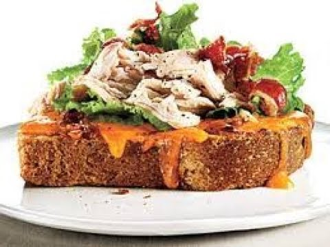 Hot Open Faced Chicken Loaf Sandwich | EASY TO LEARN | QUICK RECIPES