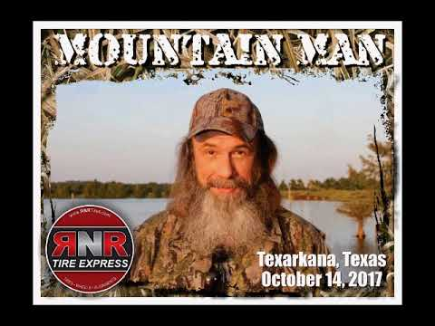 Jim and Lisa talk with Mountain Man