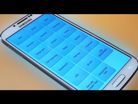 Samsung Galaxy S4 IV How to Find / Access Secret Hidden Testing Menus