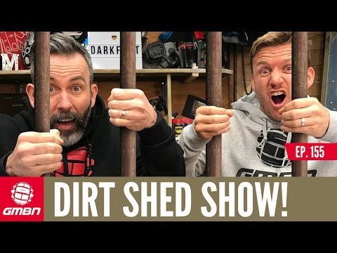 Jailed For Trail Building + Jenny Rissveds Update | Dirt Shed Show Ep. 156