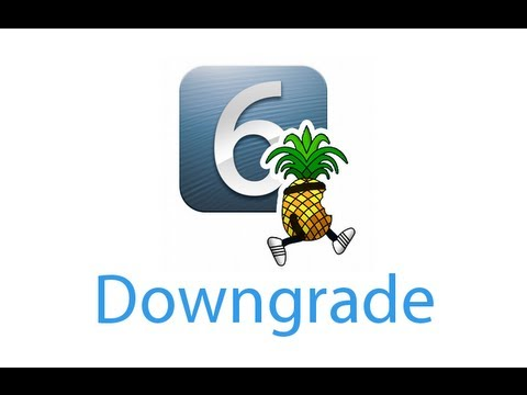 Downgrade iOS 6 vers iOS 5.1.1 avec Redsn0w (iPhone, iPod touch, iPad)