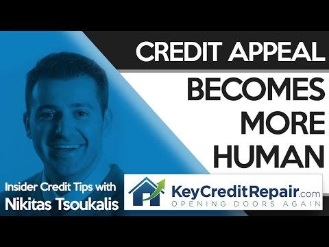 Key Credit Repair: Credit Appeal Becomes More Human