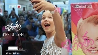 Claires stores videos by claires stores behind the scenes at jojo siwa meet greet miami m4hsunfo