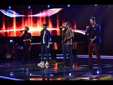 Elvis Presley - Can't Help Falling In Love. Vezi cum cântă Ad Libitum, la prima Gală X Factor!
