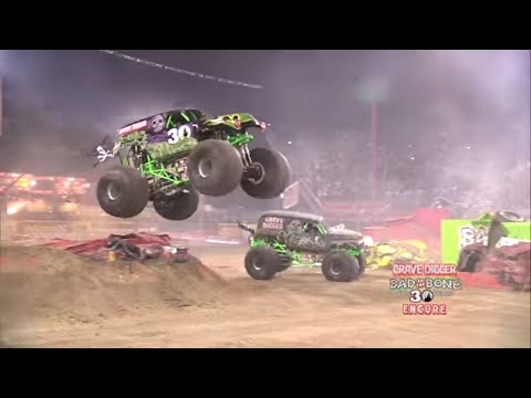 watch Monster Jam World Finals XIII Encore 2012 - Grave Digger 30th Anniversary