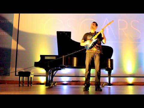 NYU Dental School Talent Show Guitarist Jamming