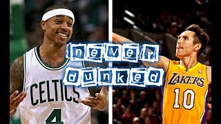 10 NBA Players who never Dunked in a Single Game since 2000