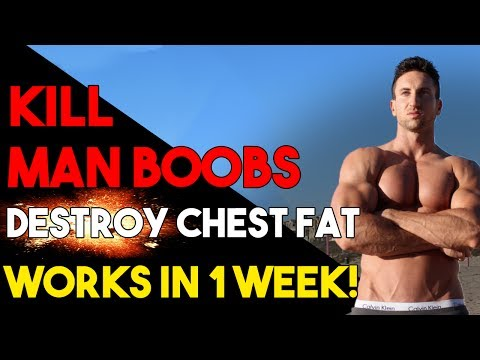 How To Lose CHEST FAT + Get Rid Of MAN BOOBS | Ripped Chest BLUEPRINT!