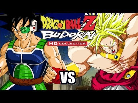 Dragon Ball Z Budokai 3 HD - Bardock vs Broly