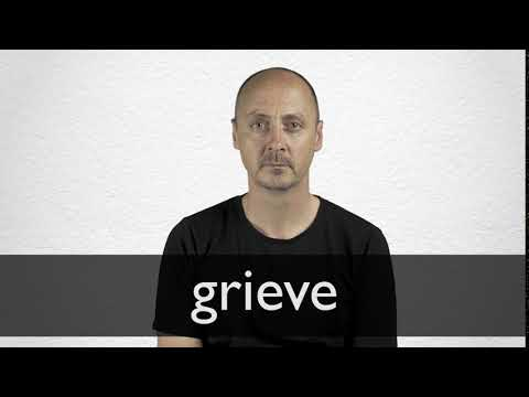 How to pronounce GRIEVE in British English