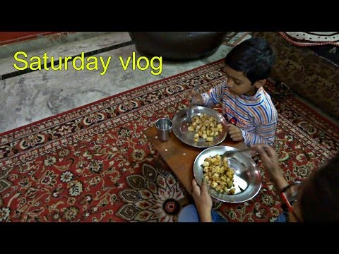 My Saturday breakfast and lunch routine.Indian mom weekend vlog.2018