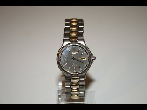Cleaning the Case and Bracelet Longines Conquest Ti at home.  Minimum equipment used.