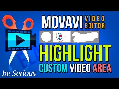 Highlight Custom Video Selection Area | Movavi Video Editor Highlight Custom Video