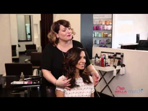Wella Plays Match Maker: First Date Hair Style