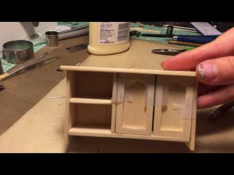 Dollhouse Cabinet Time Lapse