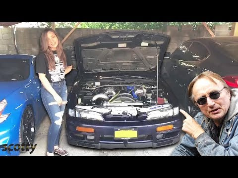 Proof Women Love Fast Cars Too, Check Out Her Nissan 240SX vs a Mitsubishi 3000 GT Spyder