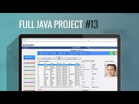 Projet Java#13:Part2:Comment Modifier les titres  de Jtable