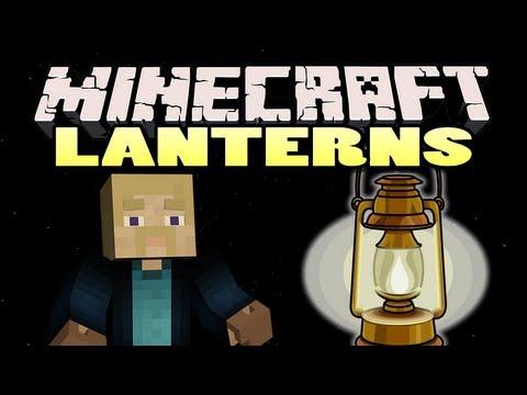 Minecraft: Lantern Mod | Dynamic Lighting!