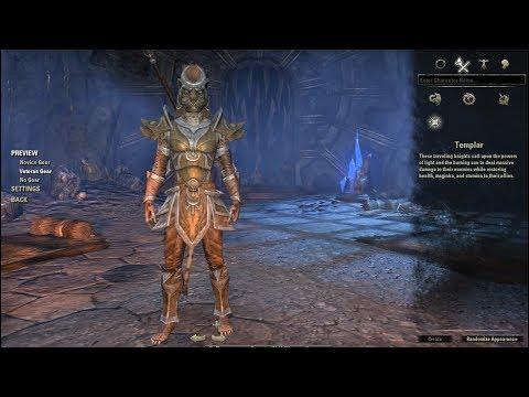 Elder Scrolls Online Khajiit Armor Styles & Skills Tree Racial