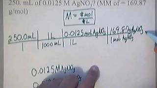 How To Calculate Molarity Practice Problem 2 Solution Chemistry Wwwwh