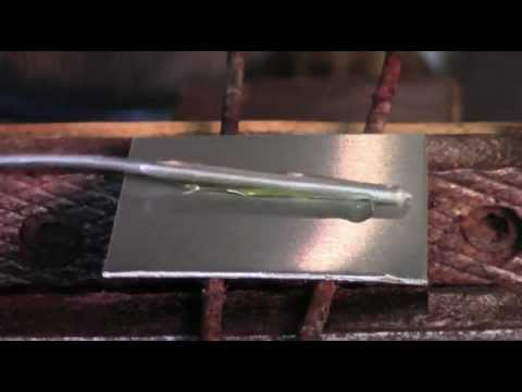 How to Solder or Braze Zinc Plates at Half the Melting Point of Zinc