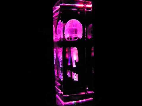 NFL Tampa Bay Buccaneers 3D Laser Etched Crystal - 6 Inch -