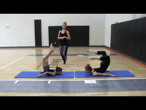 How to do a chin stand or chest balance