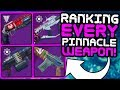 Destiny 2 Ranking All 9 Pinnacle Weapons Jokers Wild