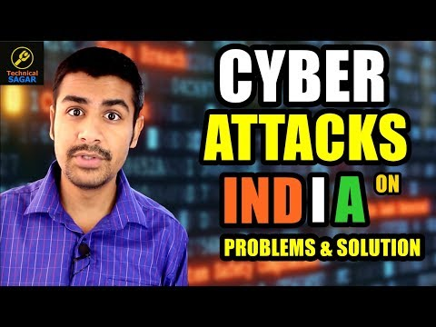 [Hindi] Cyber Attacks On India | Problems & Solutions | Govt. Websites Weakness
