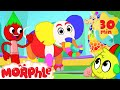 Magic Colors Morphle The Paint Brush Colors The World Learn Color Video For Kids