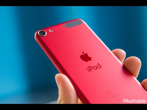 Apple Ipod Touch 6G Product Red Unboxing