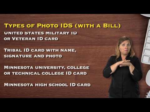 What to Do Once You've Received an Absentee Ballot and You're Unregistered (ASL / English)