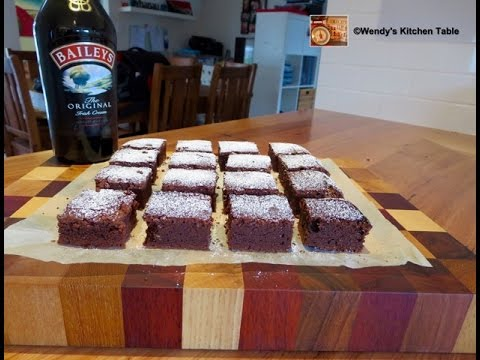 Baileys Chocolate Brownies