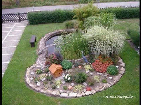 BACKYARD POND DESIGNS IDEAS